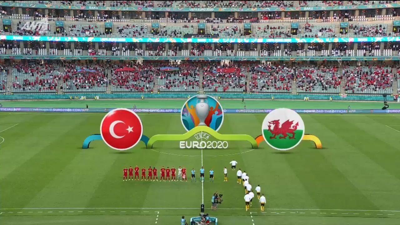 Τουρκία – Ουαλία 0-2 (hls)