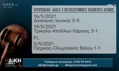 SPORTRADAR: Άλλοι 6 χειραγωγημένοι ελληνικοί αγώνες σε SL2 και FL! (+video) 39