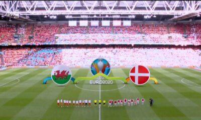 Ουαλία - Δανία γκολ