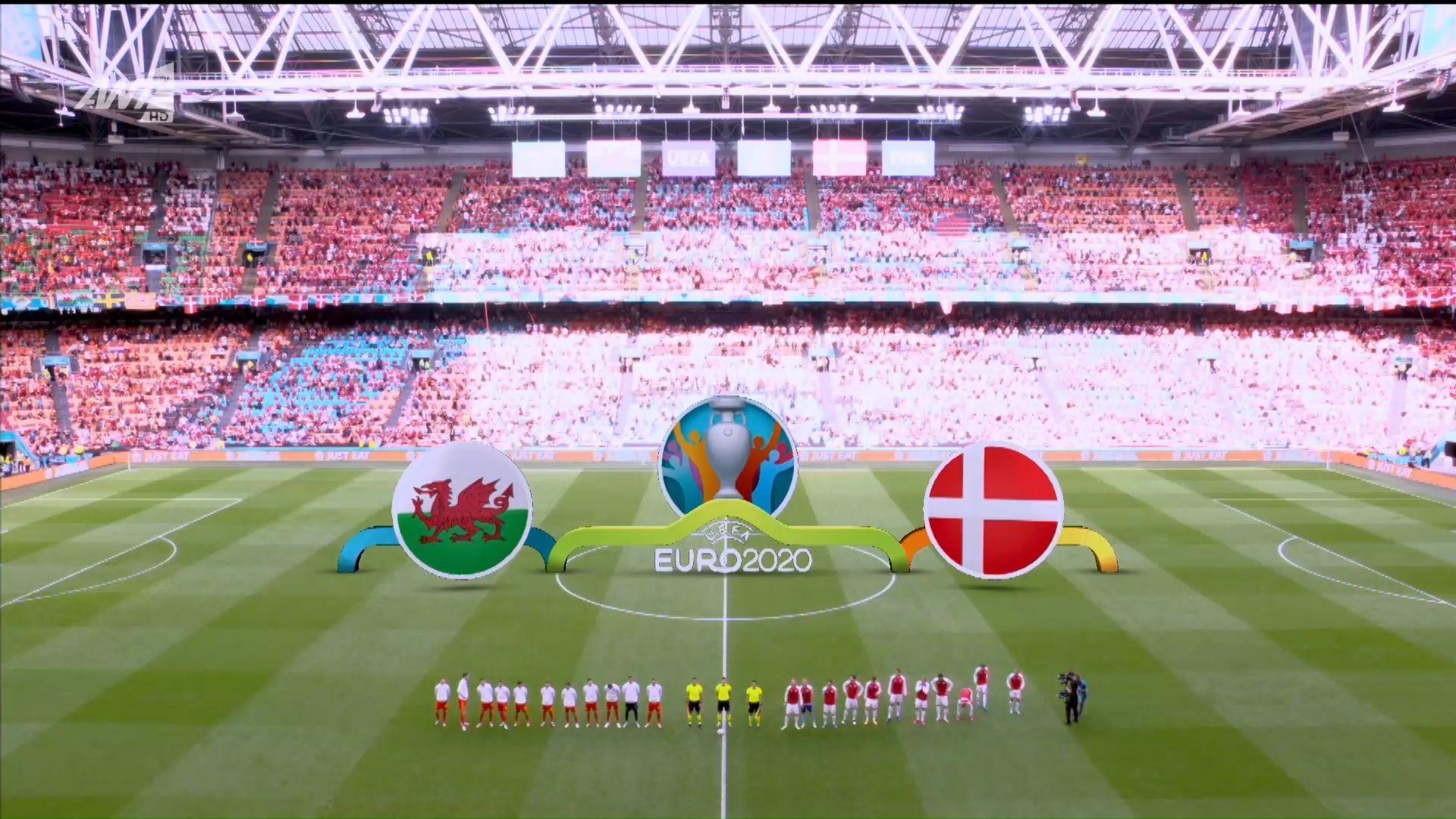 Ουαλία – Δανία 0-4: Γκολ και highlights (video)