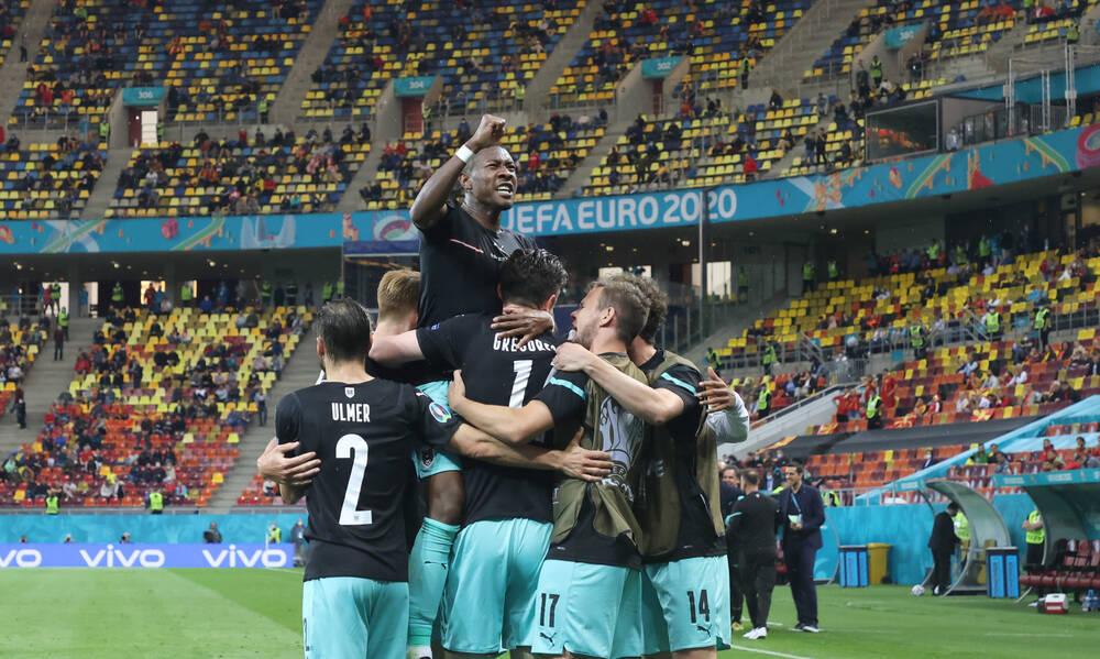 Αυστρία-Σκόπια 3-1: Πήραν φόρα στο τέλος και το «καθάρισαν» οι Αυστριακοί