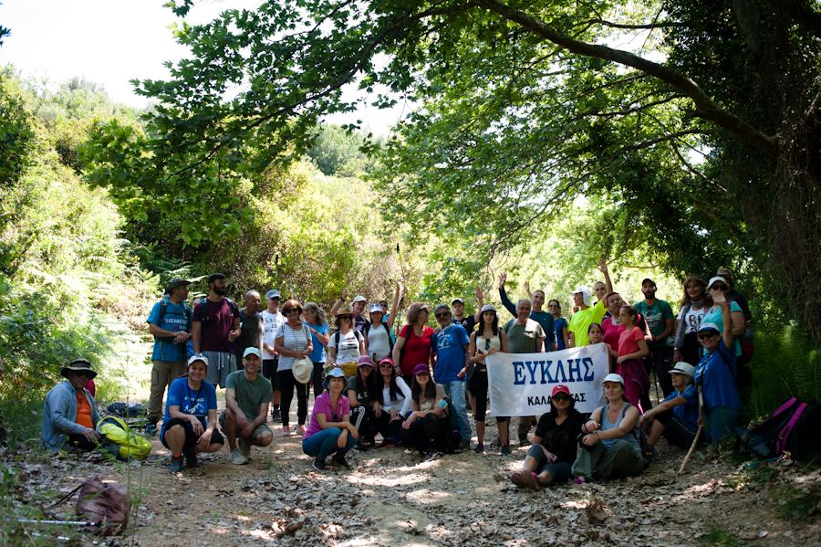 Ευκλής Καλαμάτας: Εγκαινίασε το νέο Μηναγιώτικο Μονοπάτι Natura 2000