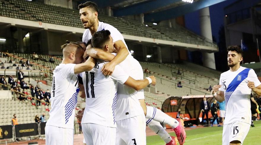Τα highlights από την ισοπαλία της Ελλάδας με το Βέλγιο στις Βρυξέλλες (video)