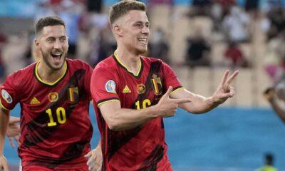 Euro 2020, Βέλγιο - Πορτογαλία 1-0: Ο Τοργκάν Αζάρ έστειλε τους Βέλγους κόντρα στην Ιταλία (+video) 10