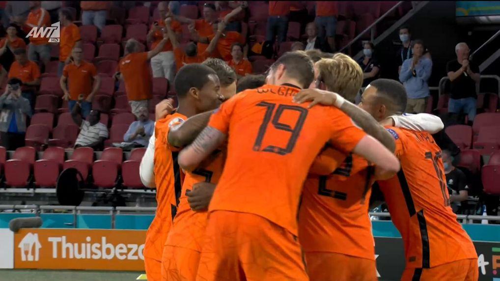 Ολλανδία – Ουκρανία : 3-2 (hls)