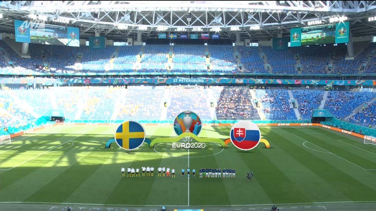 Σουηδία – Σλοβακία : 1-0 (hls)