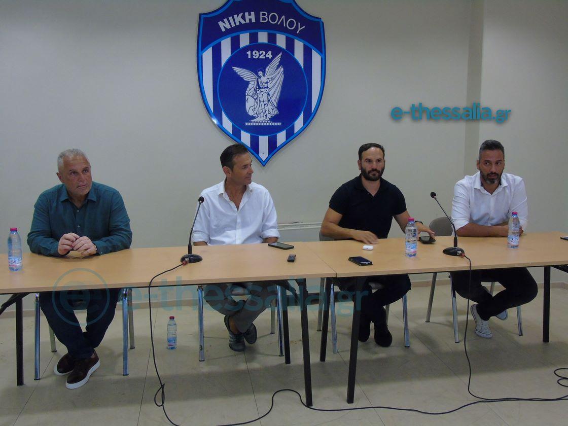 """Νίκη Βόλου: """"Δεν αφορά εμάς η πλαστοπροσωπία, έχει δίπλωμα UEFA Pro o Βοσνιάδης"""""""