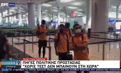 """Επιστρέφει Τουρκία η Γαλατάσαραϊ, μη δεκτά τα """"μπαγιάτικα"""" τεστ κορονοϊού -Με απόφαση Χαρδαλιά (+pic-video) 10"""