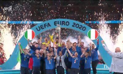 Η Ιταλία είναι πρωταθλήτρια Ευρώπης : Η απονομή (video) 6