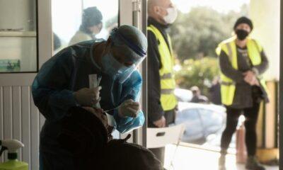 Κορονοϊός: 2919 κρούσματα σήμερα στην Ελλάδα – 31 νεκροί και 369 διασωληνωμένοι