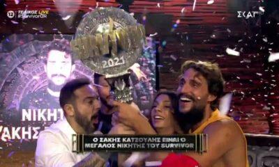 Survivor - Λειψός ο τελικός: Νικητής ο Σάκης Κατσούλης 8
