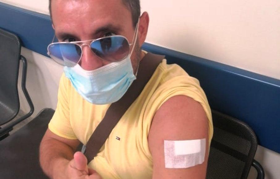 Εμβολιάστηκε και ο Σωτήρης Τσάτσος