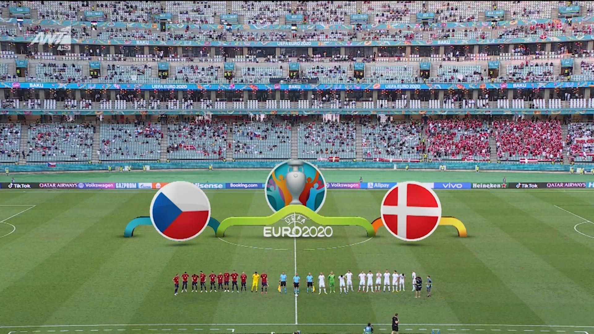 Τσεχία – Δανία : 1-2 (hls)