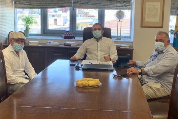 Συνάντηση με τον Δήμαρχο Καλαμάτας, Ράλλης – Αναστόπουλος