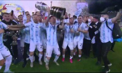 Αργεντινή – Βραζιλία : 1 – 0 | Highlights 8