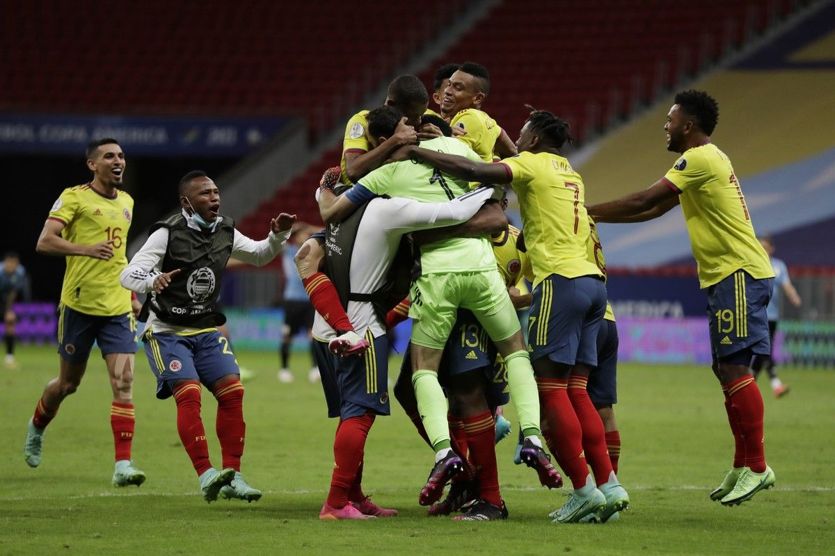 Copa America: Η Κολομβία πέταξε έξω την Ουρουγουάη στα πέναλτι και προκρίθηκε στα ημιτελικά (video)