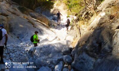 Ευκλής Καλαμάτας: Περπάτησε το φαράγγι Τέπενης στη Μάνη 10