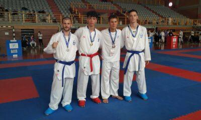 Χάλκινο μετάλλιο, στο Πανελλήνιο Πρωτάθλημα Καράτε, ο Χασανάκος 6