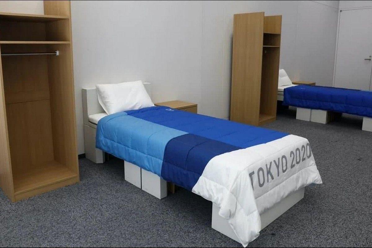 Ολυμπιακοί Αγώνες: Τα κρεβάτια από χαρτόνι στο Ολυμπιακό Χωριό αποτρέπουν το σεξ – Οτι να' ναι…