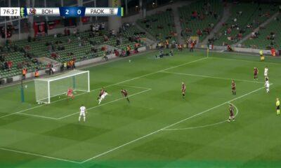 Μποέμιανς – ΠΑΟΚ 2-1: Τα γκολ του αγώνα (video)