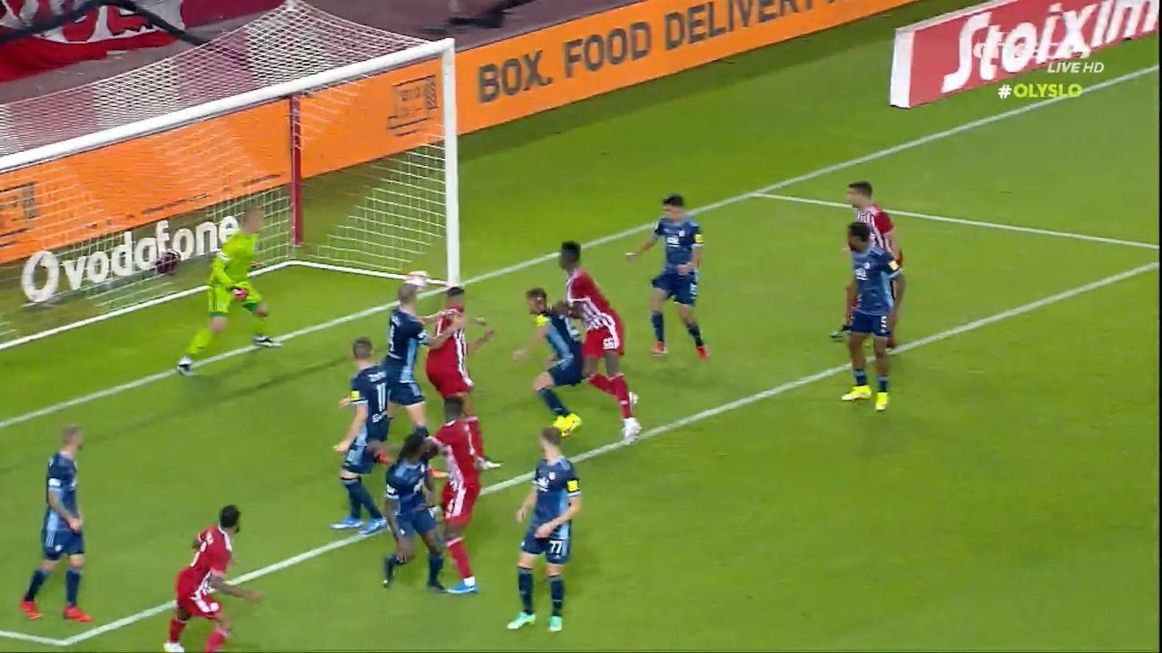 Ολυμπιακός – Σλόβαν 3-0: Τα γκολ (video)