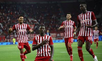Ολυμπιακός-Σλόβαν 3-0: «Έκλεισε» εισιτήριο για τους ομίλους με τα «στημένα» 8