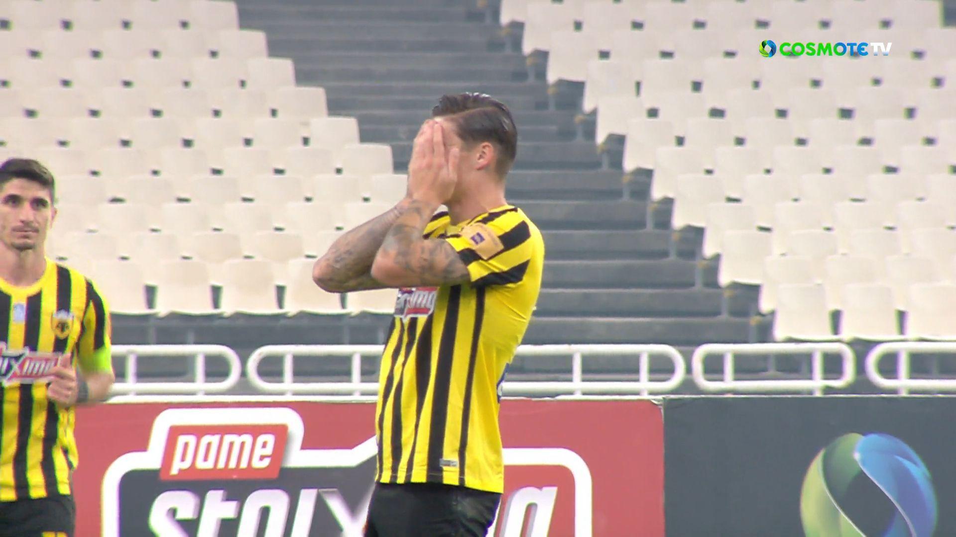 ΑΕΚ – Ιωνικός 3-0: Γκολ και highlights (video)