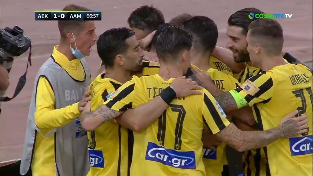 ΑΕΚ-Λαμία 1-0 |HIGHLIGHTS|