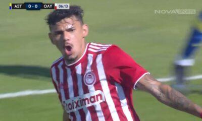 Αστέρας Τρίπολης – Ολυμπιακός 0-2 | ΓΚΟΛ ΚΑΙ HIGHLIGHTS |