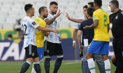 Οριστική διακοπή στο Βραζιλία – Αργεντινή, χαμός μετά το «ντου» της αστυνομίας (+video) 6