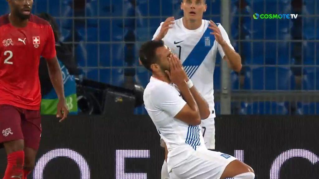 Ελβετία – Ελλάδα 2-1: Γκολ και highlights (video)