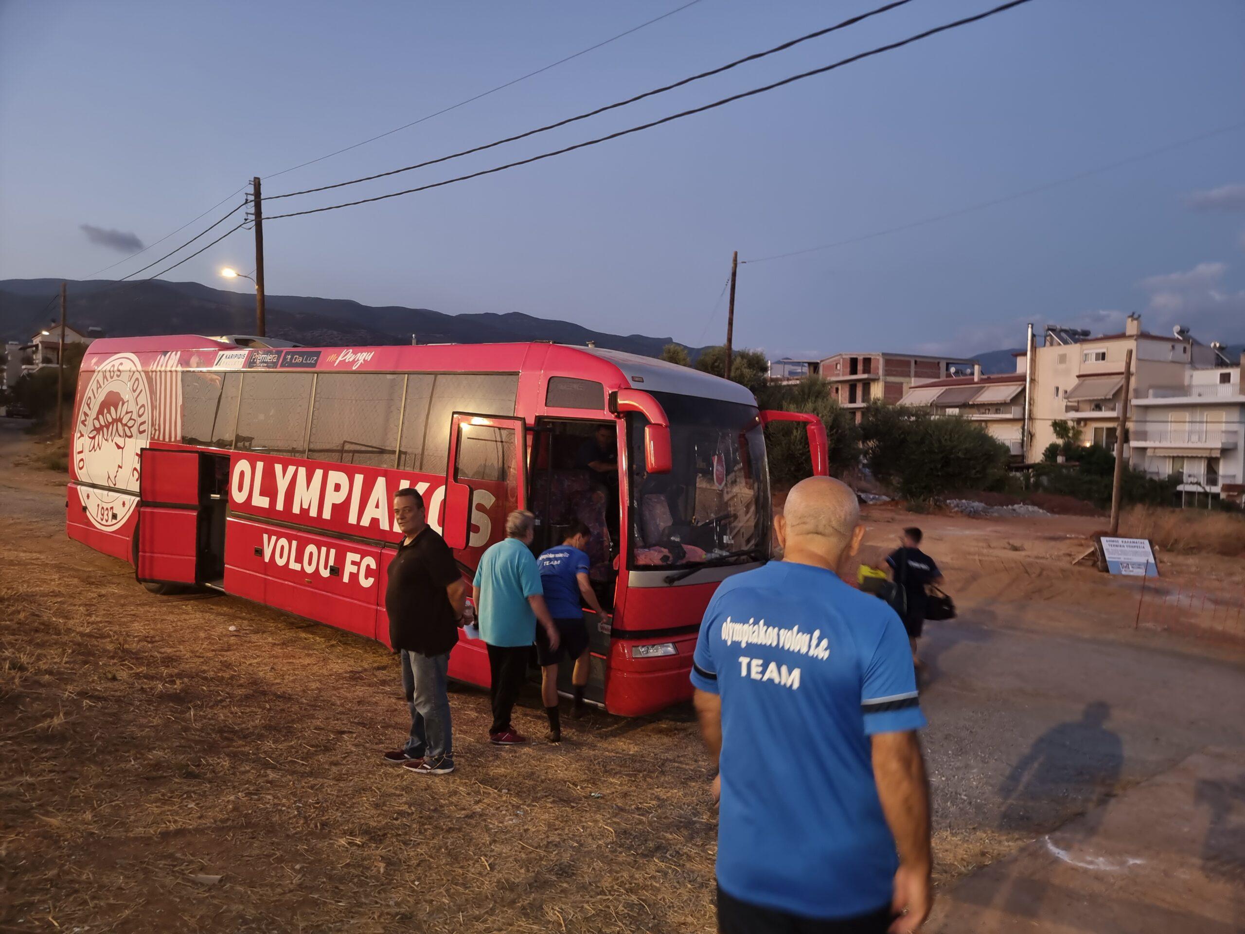 Ο Ολυμπιακός Βόλου στην Καλαμάτα ! (+pics- videos)