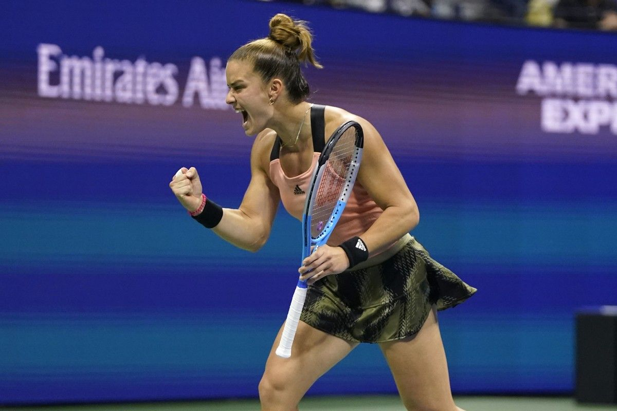Πλίσκοβα – Σάκκαρη 0-2: Ασταμάτητη η Μαρία, ισοπέδωσε την Τσέχα σε 81 λεπτά, προκρίθηκε στα ημιτελικά του US Open (+video)