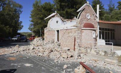 Σεισμός στην Κρήτη: Ένας νεκρός και 9 τραυματίες από το ισχυρό χτύπημα του Εγκέλαδου (+pics-videos)