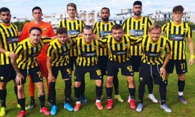 ΑΕΚ Β: Φιλική νίκη, εύκολα 2-0 τον Αστέρα Βλαχιώτη, στη Σκάλα Λακωνίας…