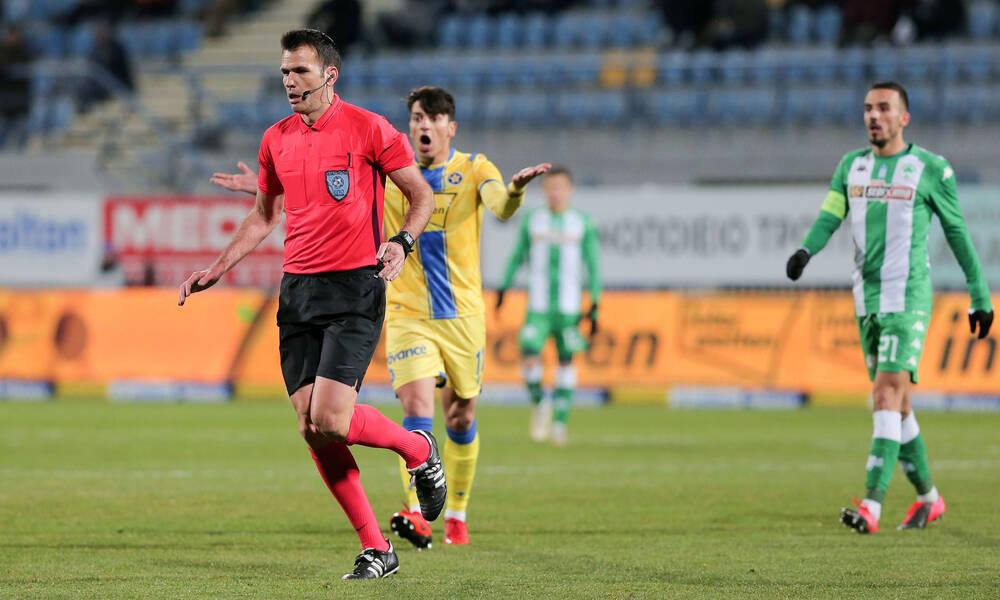 Super League: Οι διαιτητές της 6ης αγωνιστικής – Ο Μανούχος στη Λεωφόρο, Παπαδόπουλος στο ΟΑΚΑ