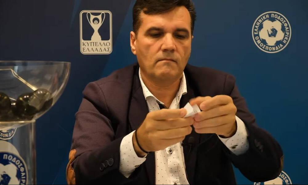 Κύπελλο Ελλάδας: Τα ζευγάρια της 5ης φάσης – Με Ατρόμητο ο Παναθηναϊκός