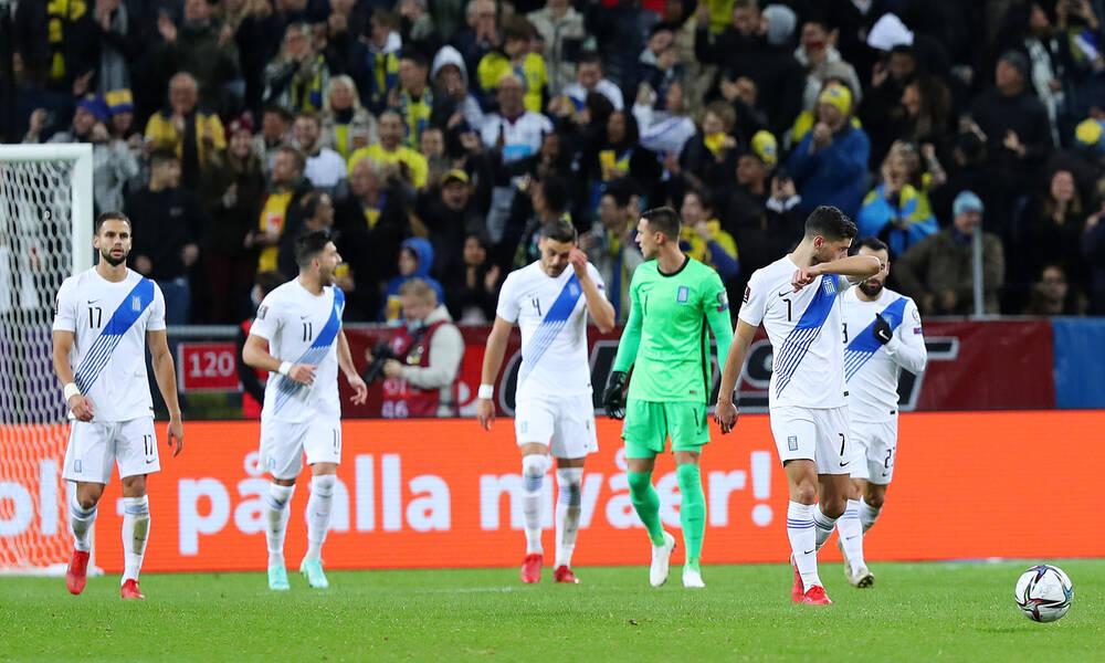 Σουηδία-Ελλάδα 2-0: Κατέρρευσε μετά το πέναλτι και λέει «αντίο» στο Κατάρ (+video)
