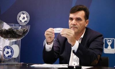 Νίκας: «Αναβαθμίζουμε το Κύπελλο – Τελικός στο ΟΑΚΑ, μέχρι τα νέα γήπεδα» 12