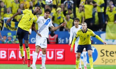 Σουηδία  – Ελλάδα 2-0 (video)