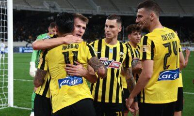 ΑΕΚ – Ατρόμητος 3-0: Με αύρα Γιαννίκη… 8