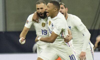 """Ισπανία – Γαλλία 1-2: Μπενζεμά και Εμπαπέ έκαναν την ανατροπή, χάρισαν στους """"μπλε"""" το Nations League (+vid)"""
