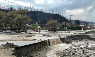 Εύβοια - Εικόνες βιβλικής καταστροφής από το πέρασμα της «Αθηνάς», τέσσερις εγκλωβισμένοι (video) 6