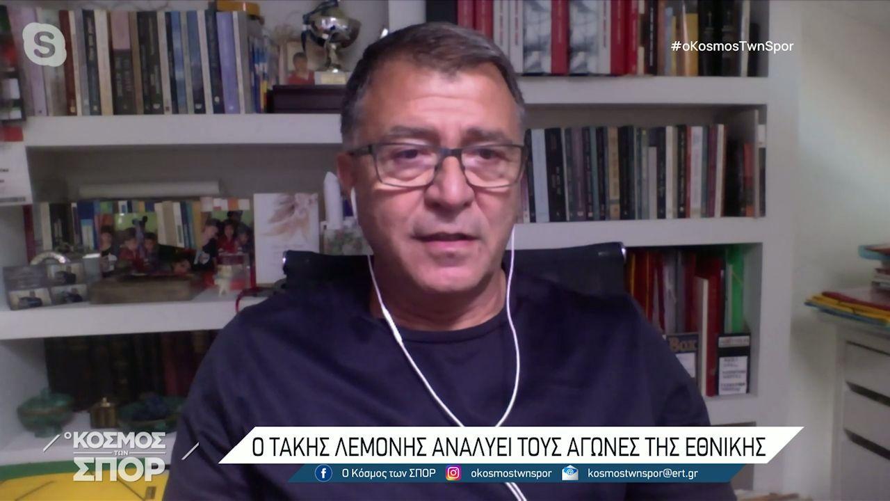 Ο Τάκης Λεμονής στεναχωριέται για Μανωλά και Παπασταθόπουλο! (video)