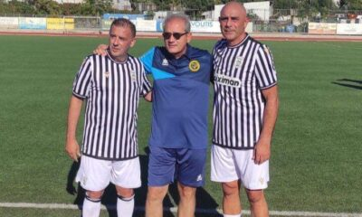 Ο Αγαθοκλής Χριστόπουλος με τους βετεράνους της ΑΕΚ και ΠΑΟΚ (+pic) 23