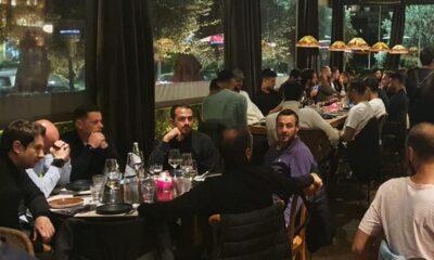 ΑΕΚ: Ο Σιμόες έκανε το τραπέζι σε όλη την ομάδα παρουσία Μελισσανίδη (+pics)