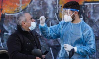Κορονοϊός: 3407 κρούσματα, 34 νεκροί, 347 διασωληνωμένο, 95 (!!!)  σε Μεσσηνία (+video)
